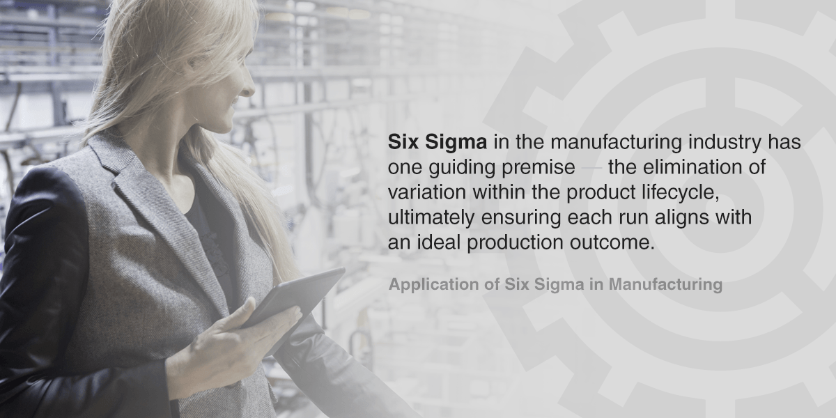 Guide to Six Sigma
